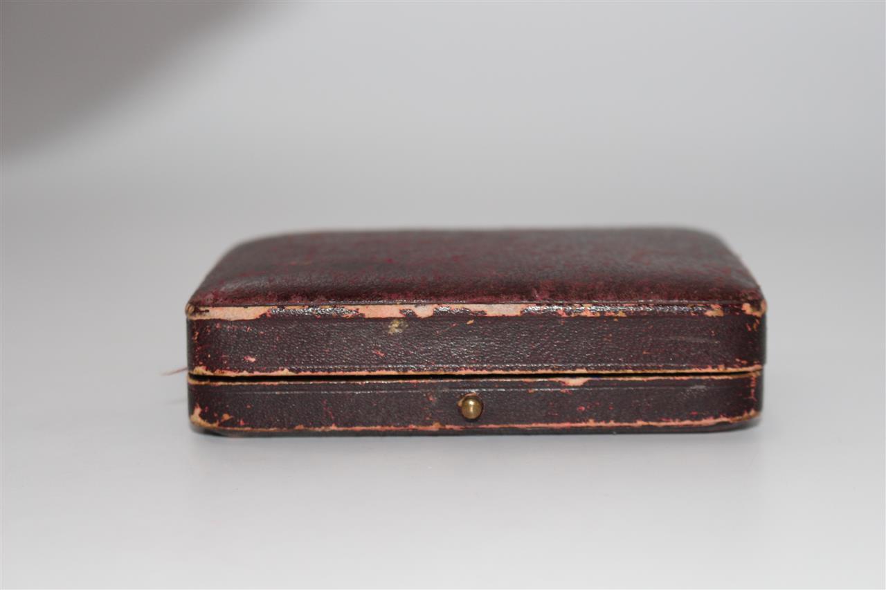 antike uhrenbox schatulle otto rus uhrmacher wiesbaden f189 ebay. Black Bedroom Furniture Sets. Home Design Ideas