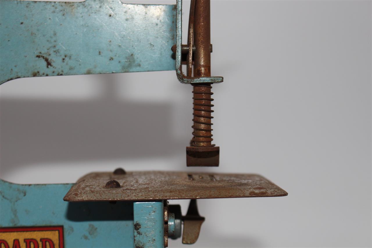 Antike blech kinder nähmaschine p b standard f ebay