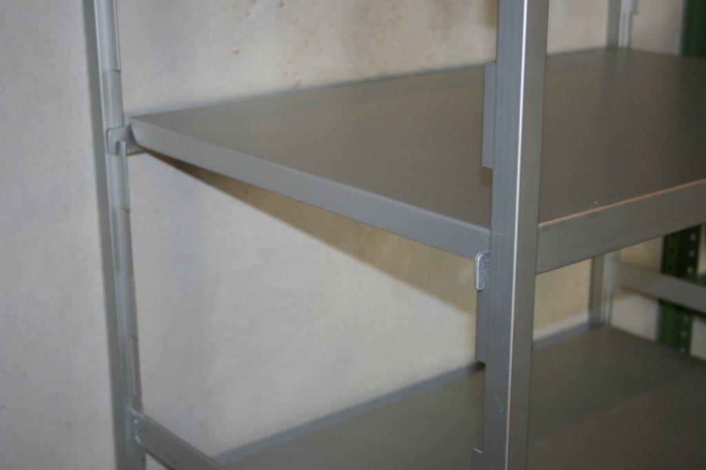 hupfer regal aluminium alu f r gastronomie k che fleischerei metzgerei a184 ebay. Black Bedroom Furniture Sets. Home Design Ideas